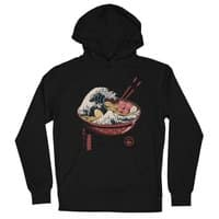 Great Ramen Wave - unisex-lightweight-pullover-hoody - small view