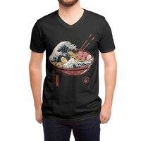 Great Ramen Wave - vneck - small view