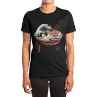 Great Ramen Wave - womens-extra-soft-tee - small view