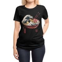 Great Ramen Wave - womens-regular-tee - small view