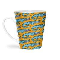 Crocodile - latte-mug - small view