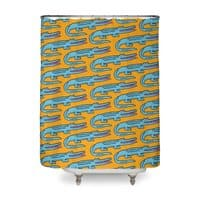 Crocodile - shower-curtain - small view