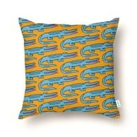 Crocodile - throw-pillow - small view