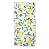 Lemons Pattern - beach-towel - small view