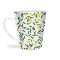 Lemons Pattern - latte-mug - small view