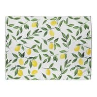 Lemons Pattern - rug-landscape - small view