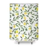 Lemons Pattern - shower-curtain - small view
