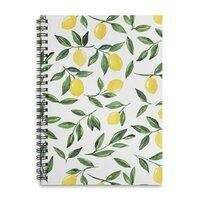 Lemons Pattern - spiral-notebook - small view