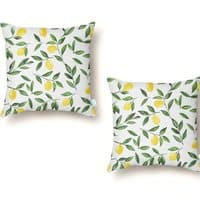 Lemons Pattern - throw-pillow - small view