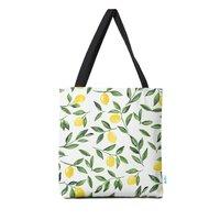 Lemons Pattern - tote-bag - small view