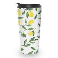 Lemons Pattern - travel-mug - small view