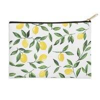 Lemons Pattern - zip-pouch - small view