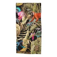 Paradise in the dark jungle 01 - beach-towel - small view