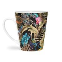 Paradise in the dark jungle 01 - latte-mug - small view