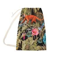 Paradise in the dark jungle 01 - laundry-bag - small view