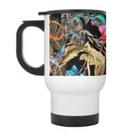 Paradise in the dark jungle 01 - travel-mug-with-handle - small view