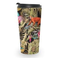 Paradise in the dark jungle 01 - travel-mug - small view