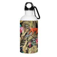 Paradise in the dark jungle 01 - water-bottle - small view
