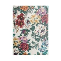 Floral and exotic birds - notebook - small view