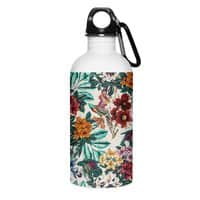 Floral and exotic birds - water-bottle - small view