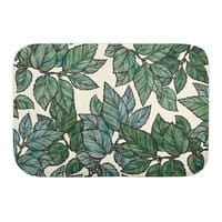 Turning Over a New Leaf - bath-mat - small view