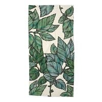 Turning Over a New Leaf - beach-towel - small view