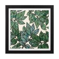Turning Over a New Leaf - black-square-framed-print - small view