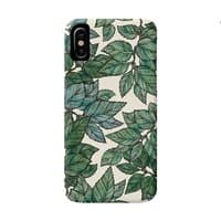 Turning Over a New Leaf - perfect-fit-phone-case - small view