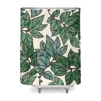 Turning Over a New Leaf - shower-curtain - small view