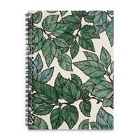 Turning Over a New Leaf - spiral-notebook - small view