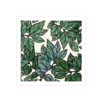 Turning Over a New Leaf - square-print - small view