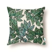 Turning Over a New Leaf - throw-pillow - small view