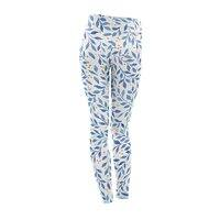 Berry Branches Pattern - Blue Palette - leggings - small view
