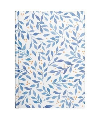 Berry Branches Pattern - Blue Palette