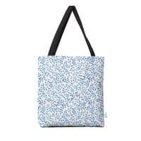 Berry Branches Pattern - Blue Palette - tote-bag - small view