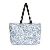 Berry Branches Pattern - Blue Palette - weekender-tote - small view