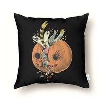 Pumpkin remix  - throw-pillow - small view