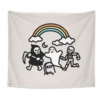 Spooky Pals - indoor-wall-tapestry - small view