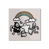 Spooky Pals - square-mounted-aluminum-print - small view