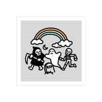 Spooky Pals - square-print - small view
