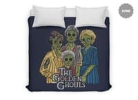 The Golden Ghouls - duvet-cover - small view