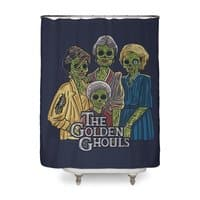 The Golden Ghouls - shower-curtain - small view