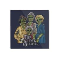 The Golden Ghouls - square-mounted-acrylic-print - small view