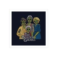 The Golden Ghouls - square-print - small view