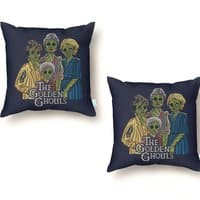The Golden Ghouls - throw-pillow - small view
