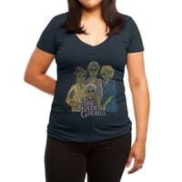 The Golden Ghouls - womens-deep-v-neck - small view
