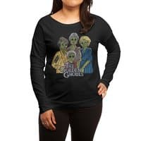 The Golden Ghouls - womens-long-sleeve-terry-scoop - small view