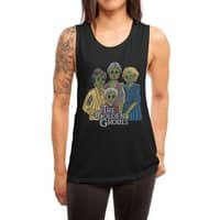 The Golden Ghouls - womens-muscle-tank - small view