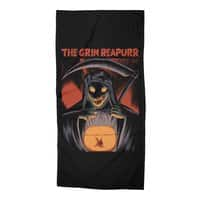 The Grim Reapurr - beach-towel - small view