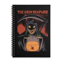 The Grim Reapurr - spiral-notebook - small view